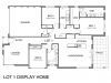 1.2 bch - display home - Shelly Beach - plan