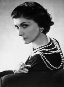 Coco Chanel - French fashion designer