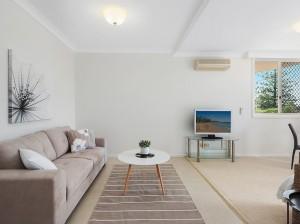 livingroom  after- PROPERTY STYLING - MCGRATH - APARTMENT, BURRAWAN ST, PORT MACQUARIE NSW 2444 -designingdivas.com.au