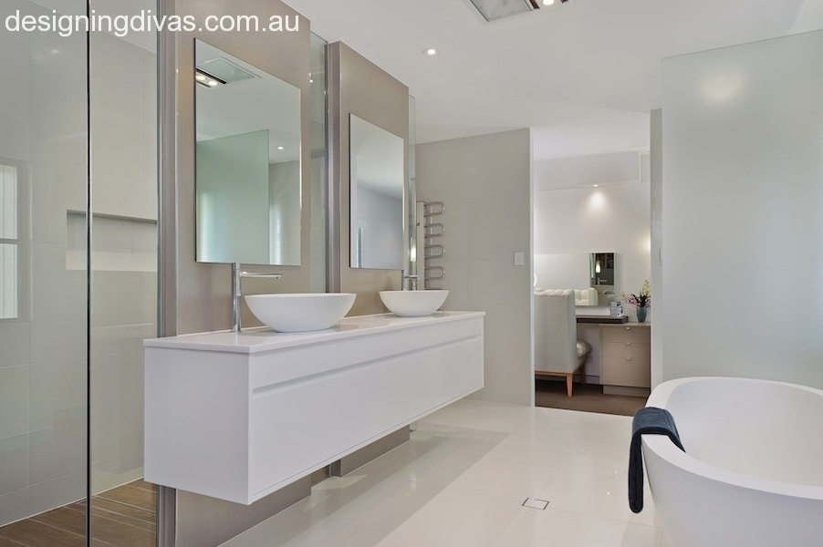 Bathroom Designer Port Macquarie New Home North Harbour Designing Divas